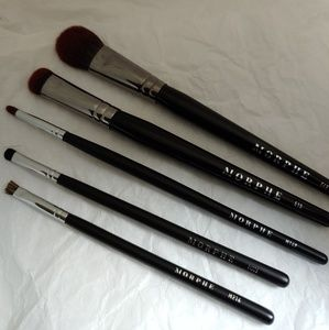 Morphe Makeup Brushes Set of 5 New